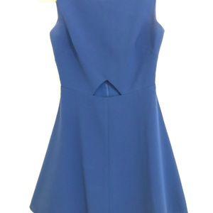Chelsea28 Royal Blue Cutout Fit & Flare Dress